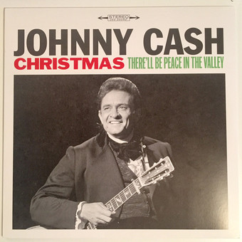 VINIL Universal Records  Johnny Cash - Christmas - There'll Be Peace In The Valley