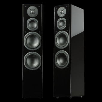 Boxe SVS Prime Tower resigilate Black Gloss