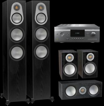 Pachet PROMO Monitor Audio Silver 300 5.0 + NAD T777 V3