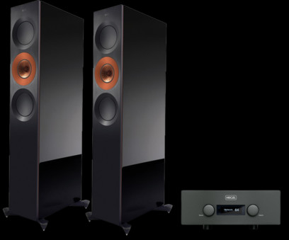 Pachet PROMO KEF Reference 3 + Hegel H590