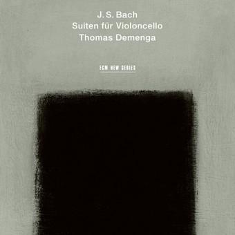CD ECM Records Thomas Demenga - Bach: Suiten Fur Violoncello