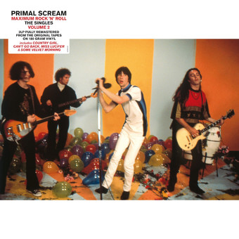 VINIL Universal Records Primal Scream - Maximum Rock 'n' Roll: The Singles (Volume 2)