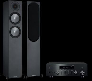 Pachet PROMO Monitor Audio Bronze 200 + Yamaha R-N602