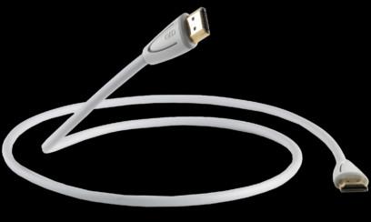 Cablu QED Profile eFlex HDMI White