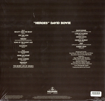 VINIL Universal Records David Bowie - Heroes