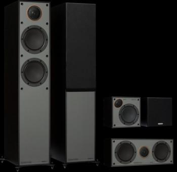 Pachet PROMO Monitor Audio Monitor 200 Black Cone pachet 5.0