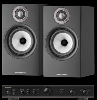 Pachet PROMO Bowers & Wilkins 607 S2 Anniversary Edition + Rotel A-10