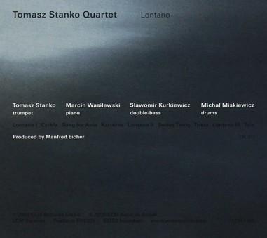 CD ECM Records Tomasz Stanko & Marcin Wasilewski Trio: Lontano