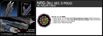Cablu Audioquest NRG-3 Power Cable