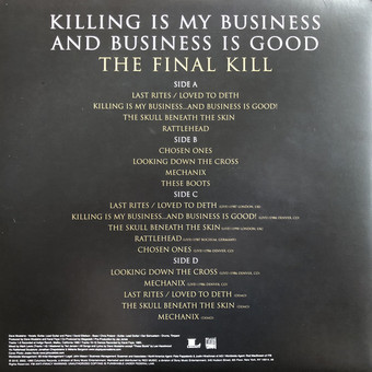 VINIL Universal Records Megadeth - Killing Is My Business  And Business Is Good ( The Final Kill )