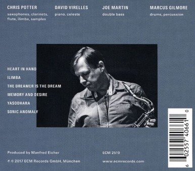 CD ECM Records Chris Potter: The Dreamer Is The Dream