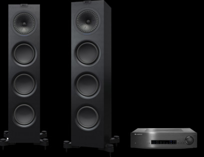 Pachet PROMO KEF Q750 + Cambridge Audio CXA60