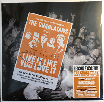 VINIL Universal Records The Charlatans - Live It Like You Love It