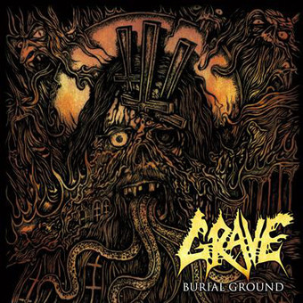 VINIL Universal Records Grave - Burial Ground (Re-Issue 2019)