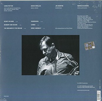 VINIL ECM Records Chris Potter: The Dreamer Is The Dream