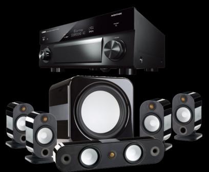 Pachet PROMO Monitor Audio Apex pachet 5.1 + Yamaha RX-A1080