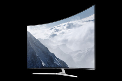 TV Samsung 55KS9002, SUHD, 138 cm, Ecran Curbat, Smart TV
