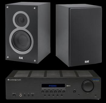 Elac Debut B5 + Cambridge Audio Topaz SR20