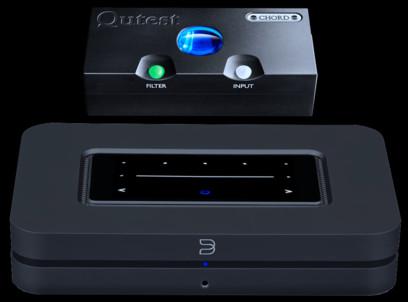 DAC Chord Electronics Qutest + Bluesound Node