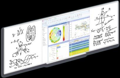 Ecran proiectie Projecta DryErase Screen Panoramic - whiteboard si suprafata de proiectie