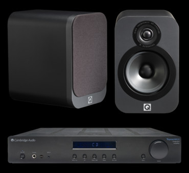 Q Acoustics 3020 + Cambridge Audio Topaz AM10