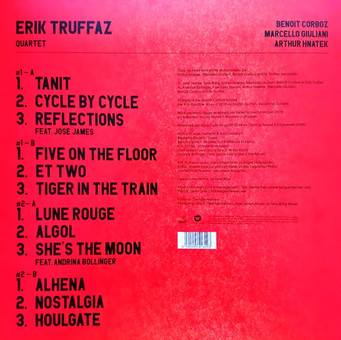 VINIL Universal Records Erik Truffaz - Lune Rouge