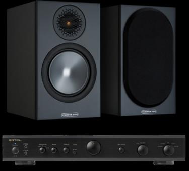 Pachet PROMO Monitor Audio Bronze 50 + Rotel A-10
