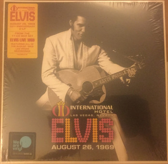VINIL Universal Records Elvis Presley - Live at the International Hotel, Las Vegas, August 26, 1969