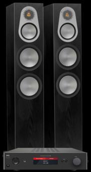 Pachet PROMO Monitor Audio Silver 500 + NAD C368