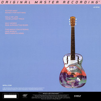 VINIL ProJect Dire Straits - Brothers In Arms MFSL