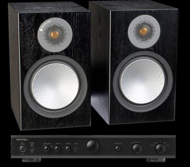 Pachet PROMO Monitor Audio Silver 100 + Rotel A-10