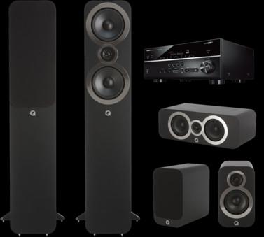 Pachet PROMO Q Acoustics 3050i pachet 5.0 + Yamaha RX-V685