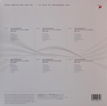 VINIL Universal Records Yo-Yo Ma - Six Evolutions - Bach: Cello Suites