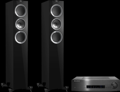 Pachet PROMO KEF R500 + Cambridge Audio CXA60
