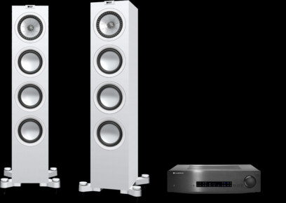 Pachet PROMO KEF Q550 + Cambridge Audio CXA60