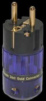 Isotek Conector Shuko 24ct Gold