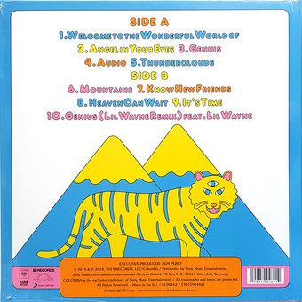 VINIL Universal Records Labrinth, Sia & Diplo Present LSD