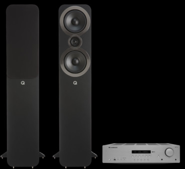 Pachet PROMO Q Acoustics 3050i + Cambridge Audio AXR100