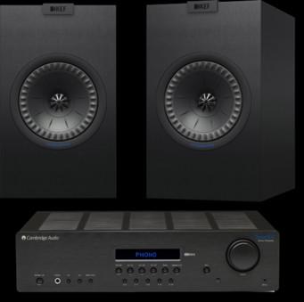 Pachet PROMO KEF Q150 + Cambridge Audio Topaz SR20