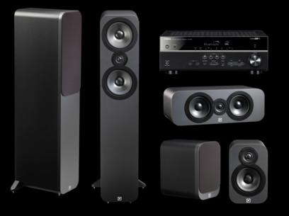 Pachet PROMO Q Acoustics 3050 pachet 5.0 + Yamaha RX-V485