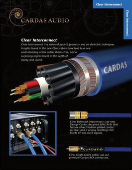 Cablu Cardas Clear Interconnect RCA