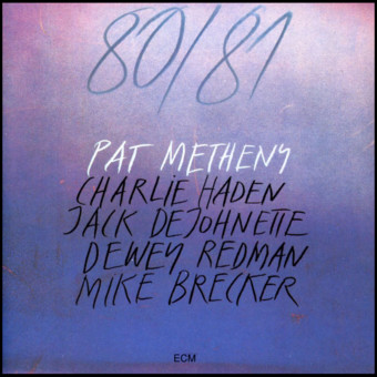 VINIL ECM Records Pat Metheny: 80/81