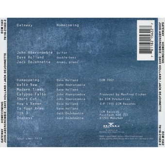 CD ECM Records Gateway: Homecoming