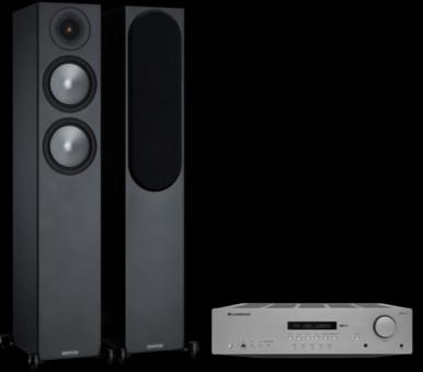 Pachet PROMO Monitor Audio Bronze 200 + Cambridge Audio AXR100