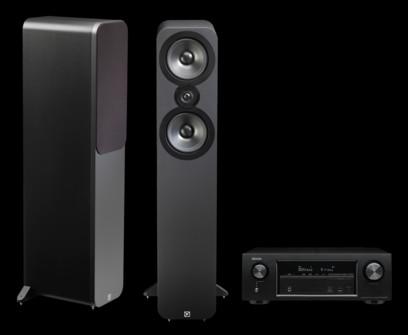 Q Acoustics 3050 + Denon AVR-X1300W