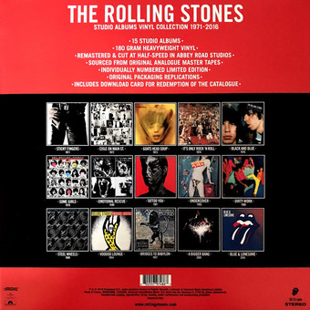 VINIL ProJect The Rolling Stones - The Studio Albums Vinyl Collection 1971-2016