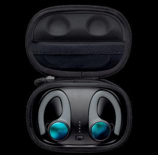 Casti Sport Plantronics BackBeat FIT 3100 True Wireless Gri