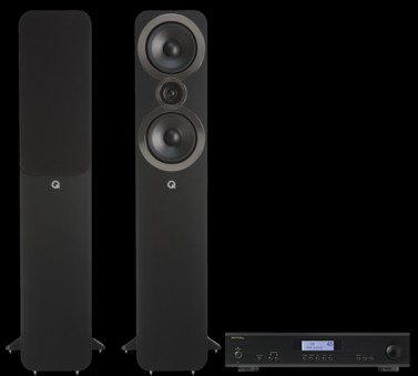 Pachet PROMO Q Acoustics 3050i + Rotel A-11