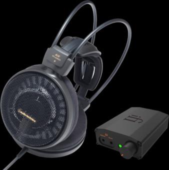 Pachet PROMO Audio-Technica ATH-AD900X + iFi Audio Nano iDSD Black