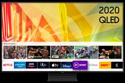 TV Samsung 55Q90TA